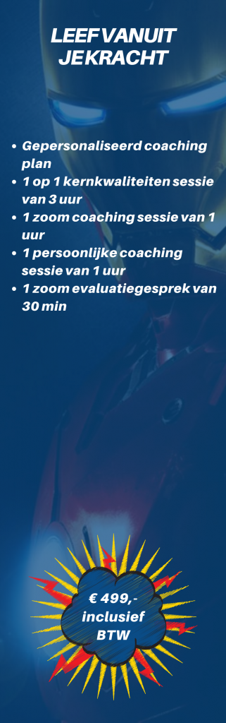 Praktijk van Dijk leef vanuit jouw kracht 2 maanden coaching traject